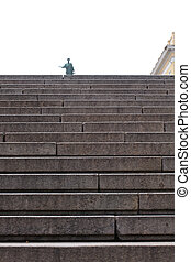 Potemkin steps, Odessa - View of the Potemkin steps in...