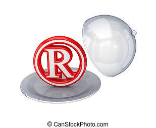 rosso, copyright, Simbolo, piatto, pietanza