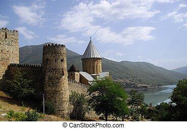 château, Géorgie,  ananuri