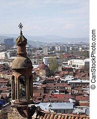 Tbilisi churches - Ancient armenian-georgian church of Karap...