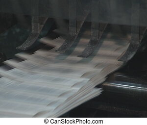 Printing daily press - Printing house Devices for printing...