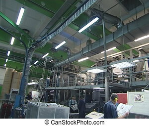 work printing Workers - Intensive job in printing house....