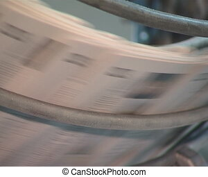 Daily printing newspaper