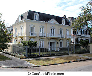 Garden District home, New Orleans, Louisiana