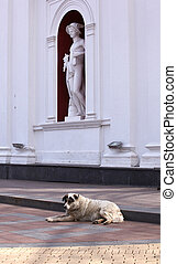 Hermes statue, Odessa - Hermes statue, The Palace of the...