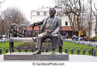 Bronze monument, Odessa - Bronze Monument in Odessa, Ukraine
