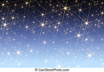 starry sky background - blue gradient background blotched...