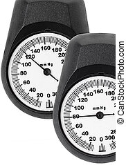 Blood pressure monitor scales