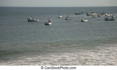 Fishing Boats At Coast