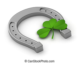 Clover and Horseshoe