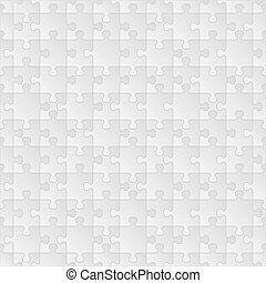 Seamless puzzle background