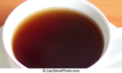 cup of tea  - whitening tea