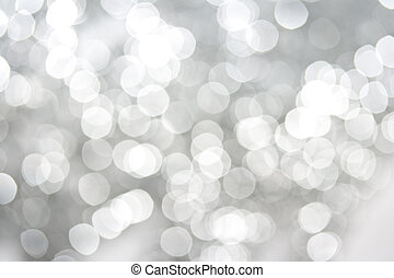 White sparkles abstract background