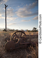 mining artefacts historical antique machinery - mining...