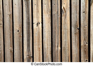 Wooden background - Wooden planks in close up - background