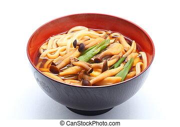 Japanese wheat noodle, Udon