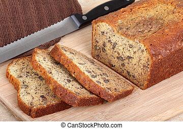 pacana, nuez, Bread