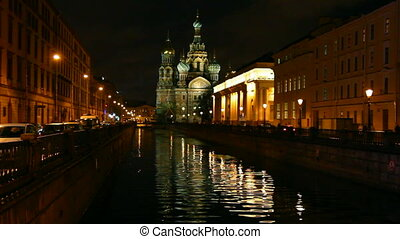 Savior on Blood - Christ the Savior Cathedral in St....