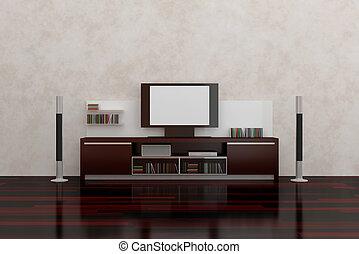 Lcd, televisión
