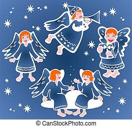 angeli, Natale