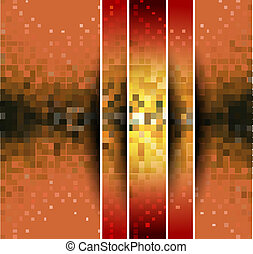 abstract colorful mosaic pattern design