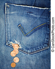 Hole in a pocket