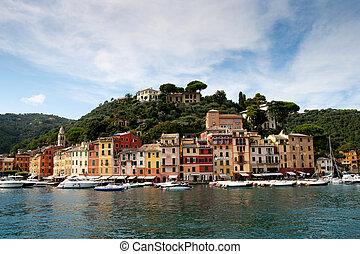 Portofino yacht port , Italy