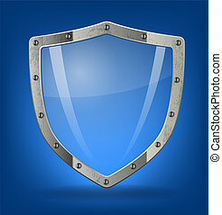 Shield icon - Shield symbol icon illustration