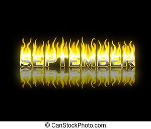 September on Fire
