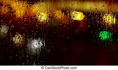 Water droplets on windows,Grilles,ice,Water vapor