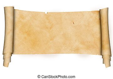 antikes, pergament