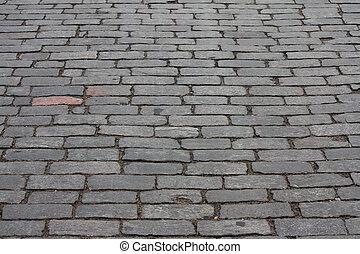 estrada,  cobbled