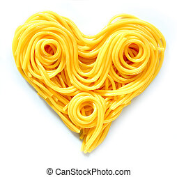 Pasta Heart - Beauty Pasta Heart Heart-shaped arrangement of...