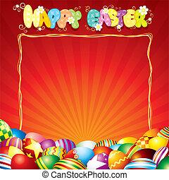 Festive Easter Card