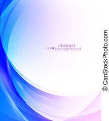 Abstract background set - Light waves vector abstract eps10...