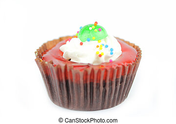 Cup cake - Cup cake on white background16
