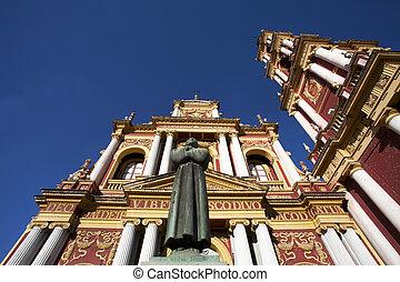 San Francisco church in Salta - The baroque San Francisco...