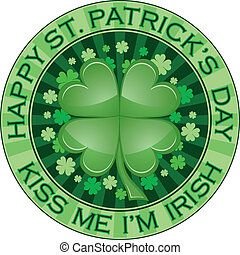 St Patrick Day Design - Illustration of a design for St...
