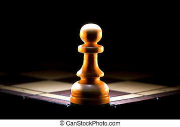 Last argument - The struck pawn on a chess board. A dark art...