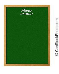 Menu - Blackboard special menu
