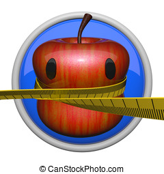 Apple Fitness Concept - Fitness Concept Apple, cute