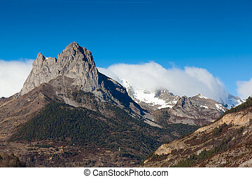 Pyrenees, Tena valley, Huesca, Aragon, Spain