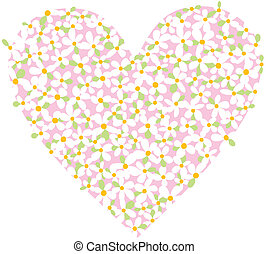 Valentines Day, heart, background, vector