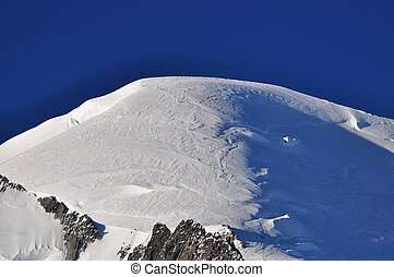Top of the Alps Mountains