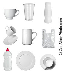 container cup mug bottle and bag - collection of various...