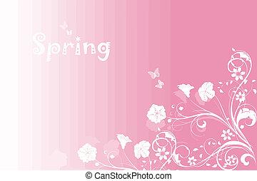 Spring Pink Background
