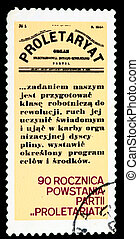 Postage Stamp - Poland - CIRCA 1980: A Stamp printed in...