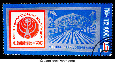 Postage Stamp - USSR - CIRCA 1975: A stamp printed in the...