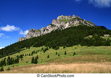 Low Fatra - The peak Big Rozsutec - Mala Fatra hills.