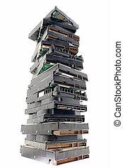 Stack disks